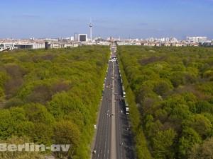 Blick über den Berliner Tiergarten