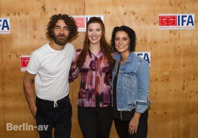 Diana Richter interviewt Stefanie Kloß und Andreas Nowak von der Gruppe Silbermond
