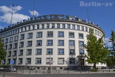 Das RIAS Gebäude in Berlin