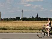 Radfahren auf der Tempelhofer Freiheit