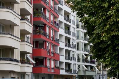 Wohnhäuser am Bundesratufer