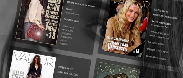 Valeur Magazin aus Berlin