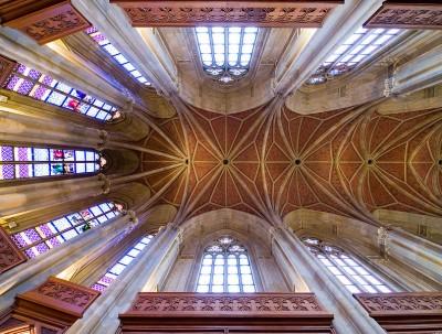 Innenraum der Friedrichswerderschen Kirche. Foto: Arnold Paul/Wikipedia