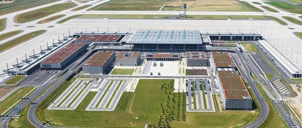 Flughafen BER aus der Luft Foto: Pressefoto BER
