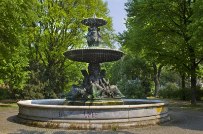 Berliner Brunnen - Der Wrangelbrunnen in Kreuzberg