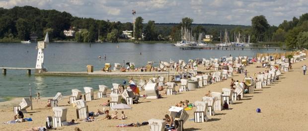 Strandbad Wannsee - © visitBerlin, Foto: Wolfgang Scholvien