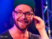Mark Forster beim Konzert im Berliner nhow-Hotel