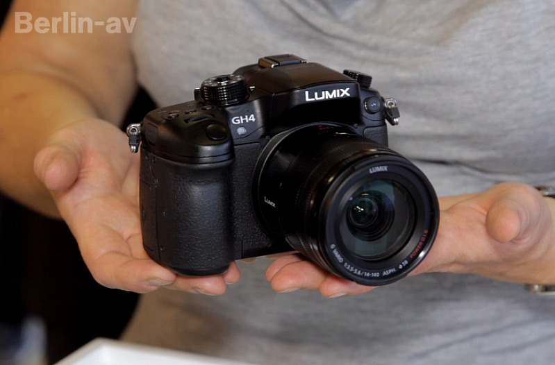 Fotos und Filme in 4K: Panasonic GH4