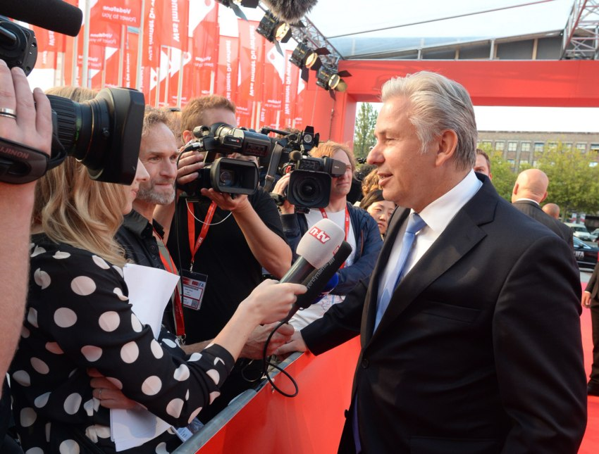 Klaus Wowereit beim IFA opening