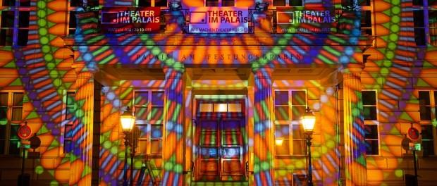Palais am Festungsgraben. Berlin leuchtet 2014