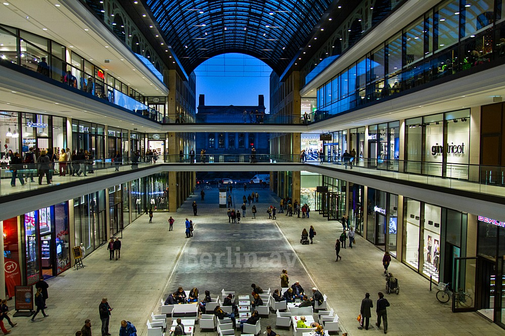 Mall of Berlin in der Leipziger Strasse