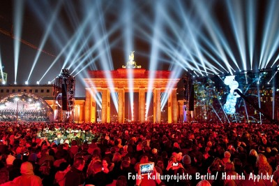 25 Jahre Mauerfall - Bürgerfest am Brandenburger Tor. Foto: Kulturprojekte Berlin/Hamish Appleby