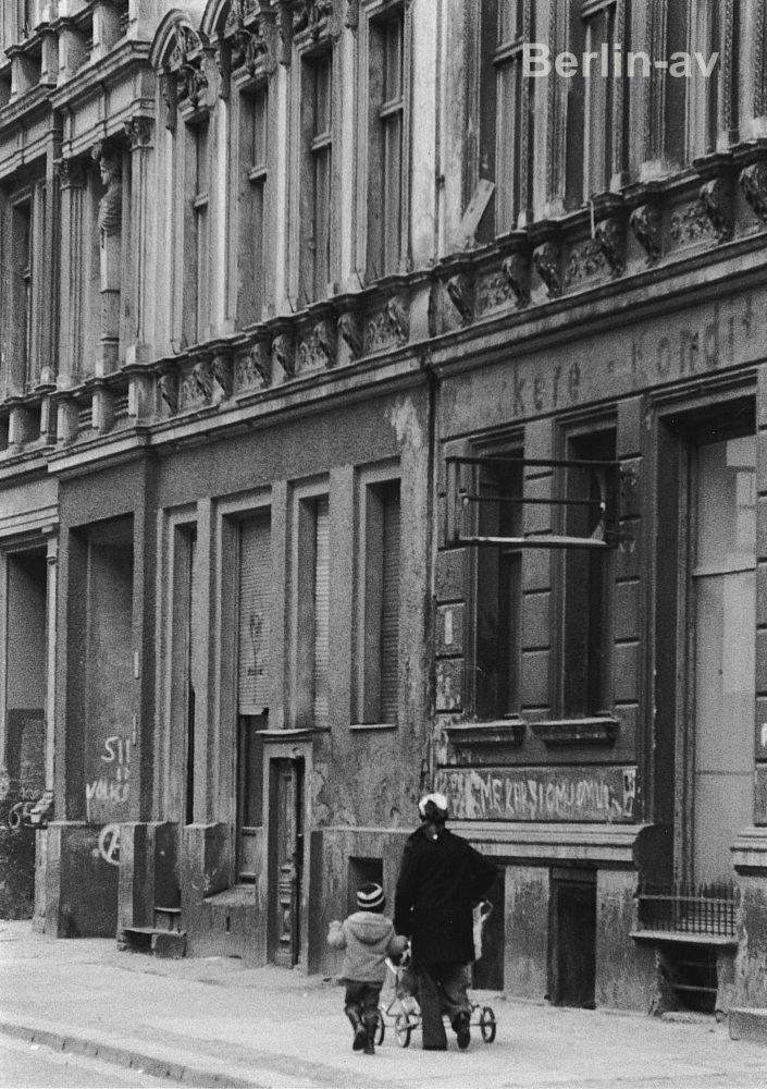 Berlin Kreuzberg in den siebziger Jahren