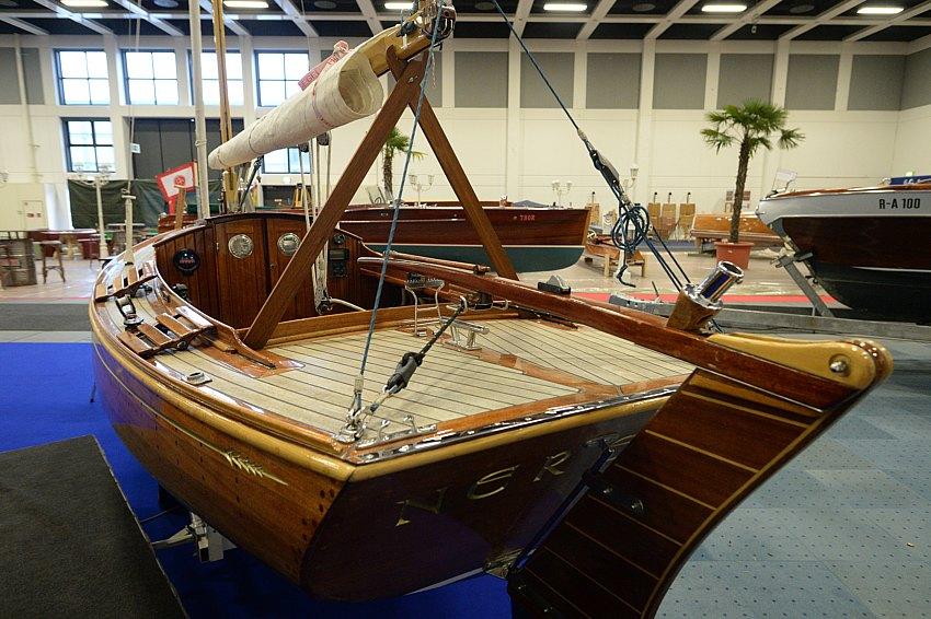 """Mit der neuen Aktionsfläche """"Manufactum – Hightech vs. Handwerk"""" bekommt der Bereich Klassiker & Refit (Halle 6) ein interaktives Forum für die Restauration klassischer Yachten und den Refit eigener Boote."""