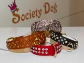 Hundehalsbänder mit Swarowskisteinen von Society Dog