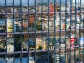 Spiegelungen im DB Haus am Potsdamer Platz