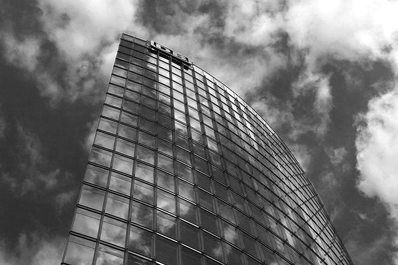 Berlin Schwarzweiss - DB Tower