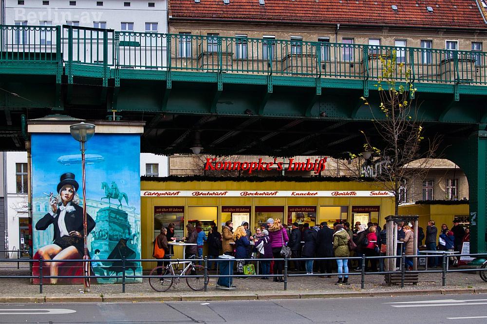Konnopkes Imbiss in Berlin ist legendär