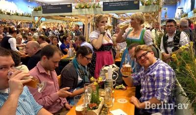 Beste Stimmung in der Bayernhalle auf der Grünen Woche