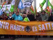 """Demo """"Wir haben es satt"""" 2015 in Berlin"""