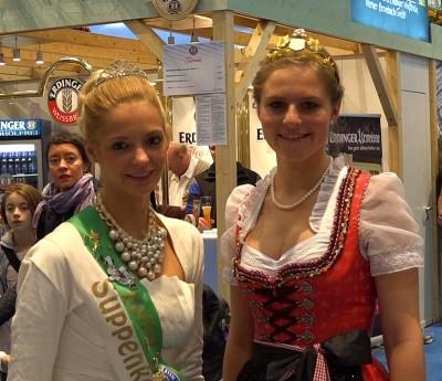 Produktköniginnen auf der Grünen Woche Berlin 2015