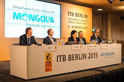 Eröffnungs-Pressekonferenz der ITB Berlin 2015 - Foto: Messe Berlin