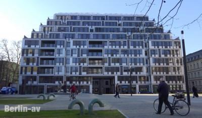 Architektur am Bertolt-Brecht-Platz