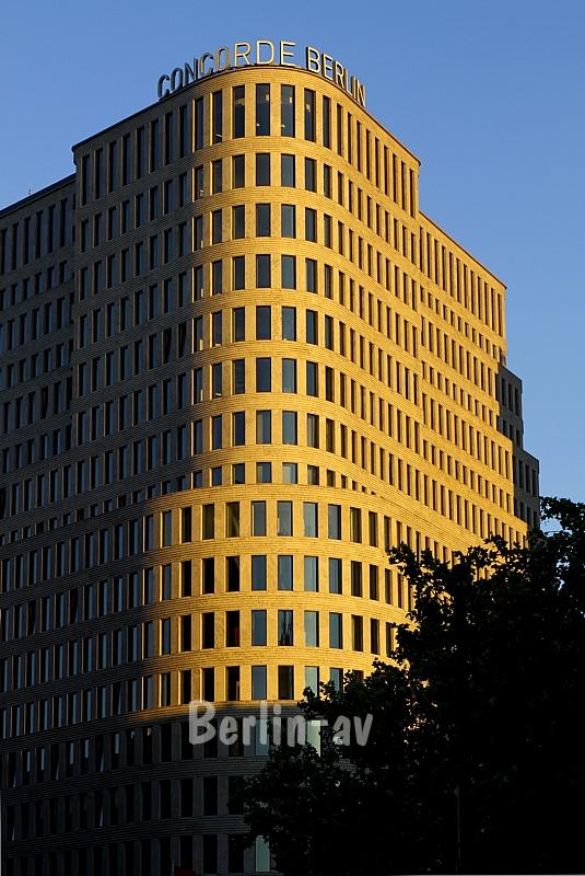 Hotelbau an der Joachimstaler Straße (Heute Sofitel)