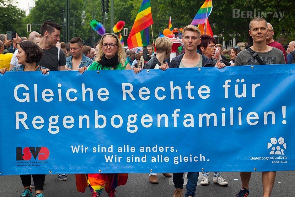 Es war ein politischer Christopher Street Day in Berlin