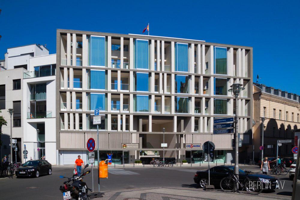 Architektur in Berlin. Haus am Hausvogteiplatz. Nägeliarchitekten