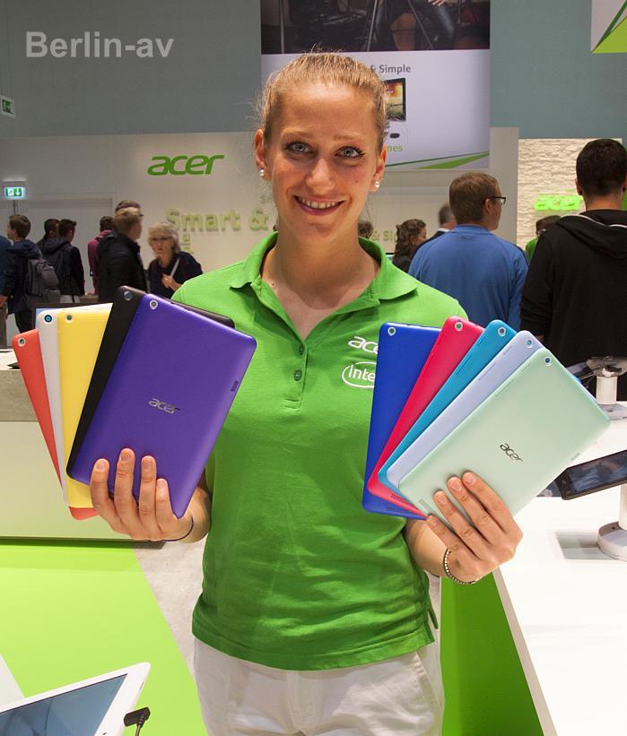 Bumper Cases als Schutz fürs Tablet in allen Farben von Acer
