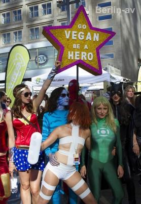 Veganes Leben in Berlin - Veganer in Berlin auf dem veganen Sommerfest 2015