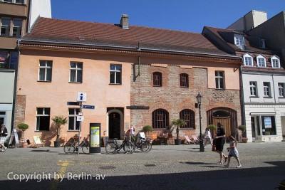Das Gotische Haus in der Spandauer Altstadt in Berlin
