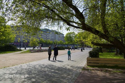 Die Berliner Karl-Marx-Allee