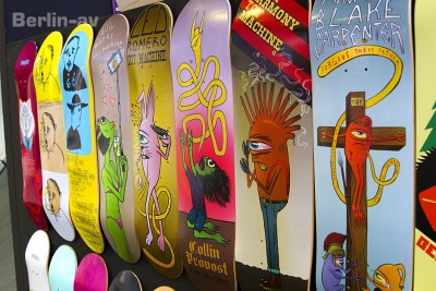 Skateboards von Trap Skateboards - Bright Tradeshow in Berlin