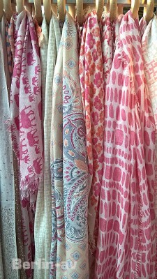 Traumhafte Halstücher aus Cashmere in wunderbaren Farben