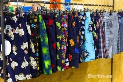 Die angesagten Farben für den Somer 2017 auf der Seek Modemesse.