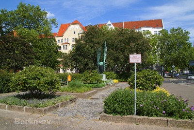 radtour durch Berlin - Der Bundesplatz im Bezirk Wilmersdorf