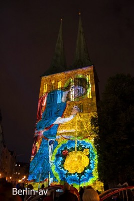 Festival of Lights 2016 - Nikolaiviertel