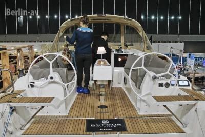 Die Dufour Grand large 382 auf der Boot und Fun 2016
