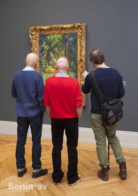Museum Barberini - In der Ausstellung Impressionismus