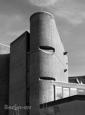 Brutalismus in Berlin - Institut für Hygiene und Umweltmedizin Detail