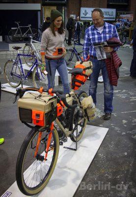 Bicycle-Bags aus Berlin von Gramm-Tourpacking - Fahrradschau Berlin 2017