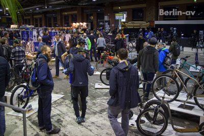 Berliner Fahrradschau 2017 - Gut gefüllt ist die Messe am Eröffnungsabend
