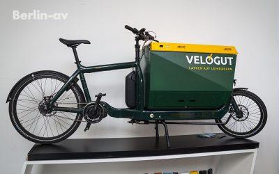 """Cargo Bike von """"Velogut"""" auf der VeloBerlin 2017"""