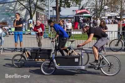 Cargo Bike Rennen auf der Velo Berlin 2017
