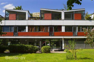 Das Eternit-Haus im Berliner Hansaviertel