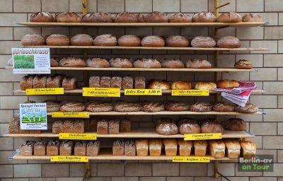 Leckere Brotauswahl von der Landbäckerei Röhrig