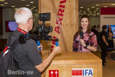 Diana Richter besuchte für Berlin-av das IFA 2017 Briefing