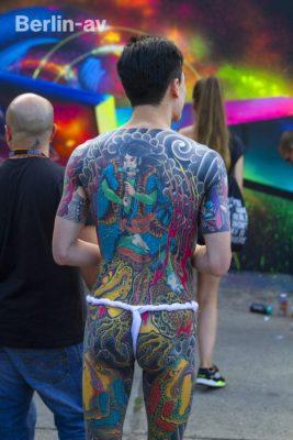 27. Tattoo Convention Berlin - Ein wunderschönes asiatisches Rückentattoo - Artist: Wei Yi Tattoo
